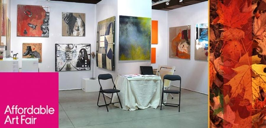 Purpa Fine Art Gallery at the 2014 November edition of Affordable Art Fair Singapore