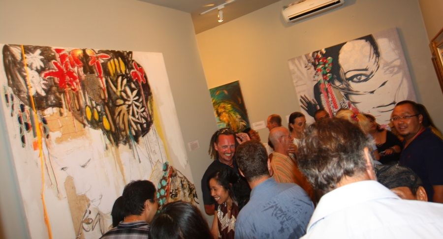Grand Opening Purpa Fine Art Gallery Seminyak